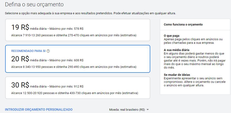 pagamento google ads