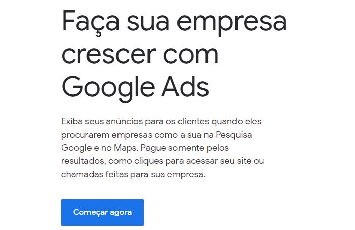 como criar uma campanha do google ads